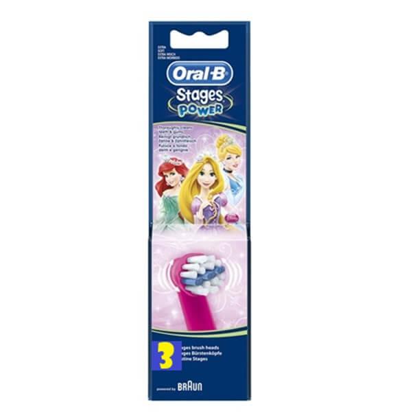 Recambios oral-b princesas 3 unidades