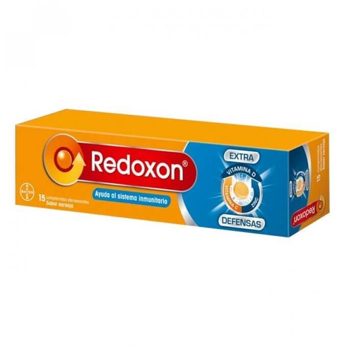 Redoxon Extra Defensas Vit C+d+zinc Naranja 15 Comprimidos Efervescentes