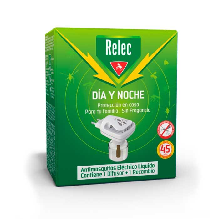 Relec Dia y Noche Antimosquitos Electrico Liquido