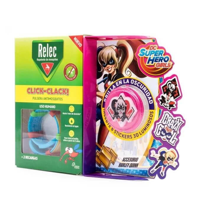 Relec Pulsera Antimosquitos Infantil Harley Quinn