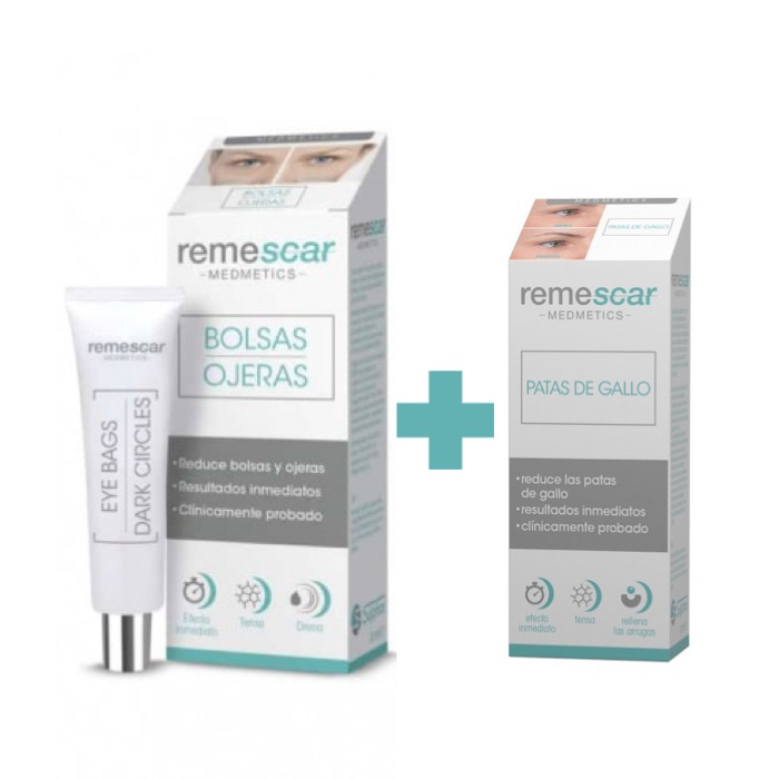 Remescar Bolsas y Ojeras 16ml + Regalo Patas de Gallo 8 ml