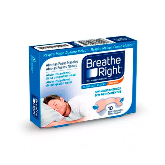 Rhinomer Breathe Right Tira Nasal Pequeña/mediana 10 Unidades