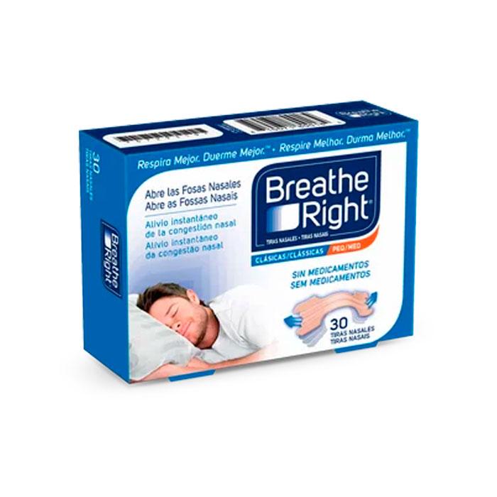Rhinomer Breathe Right Tira Nasal Pequeña/mediana 30 Unidades
