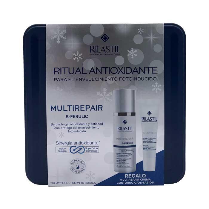 Rilastil Multirepair S-ferulic Serum Bi-gel 30ml + Regalo Crema Contorno Ojos y Labios 15ml