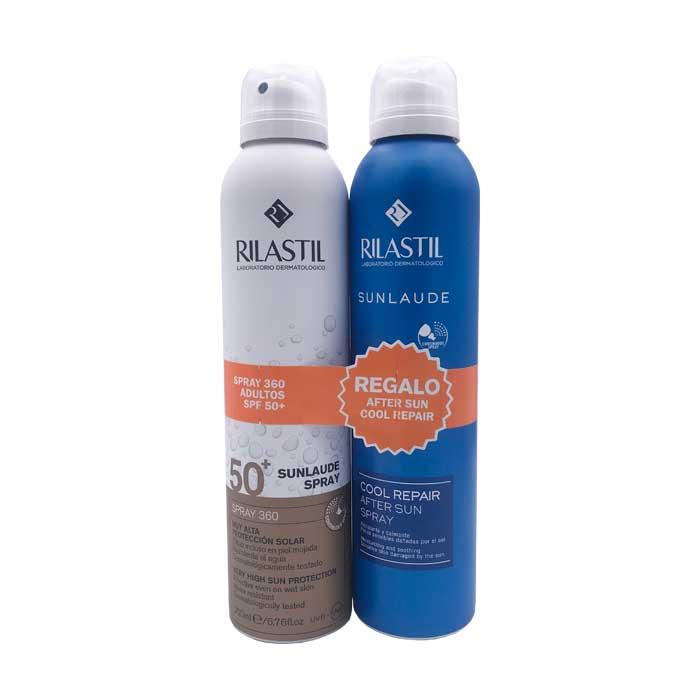 Rilastil Sunlaude Spray 360 Spf50+ 200ml + Regalo Sunlaude Cool Repair After Sun Spray 200ml