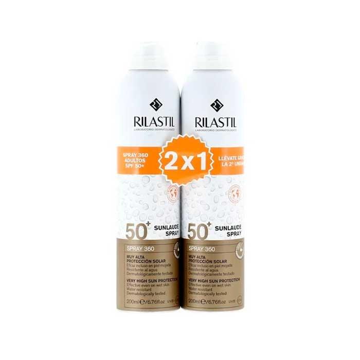 Rilastil Sunlaude Spray 360 Spf50+ 2x1 200ml