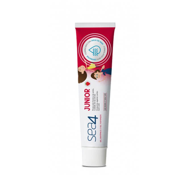 Sea4 Junior Gel Dentifrico Sabor Fresa 75ml