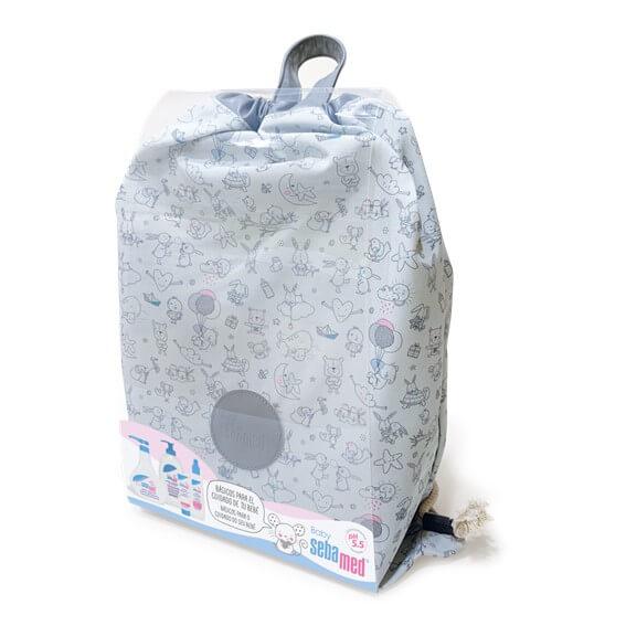 Sebamed Baby Mochila Unisex + Basicos Cuidado Del Bebe