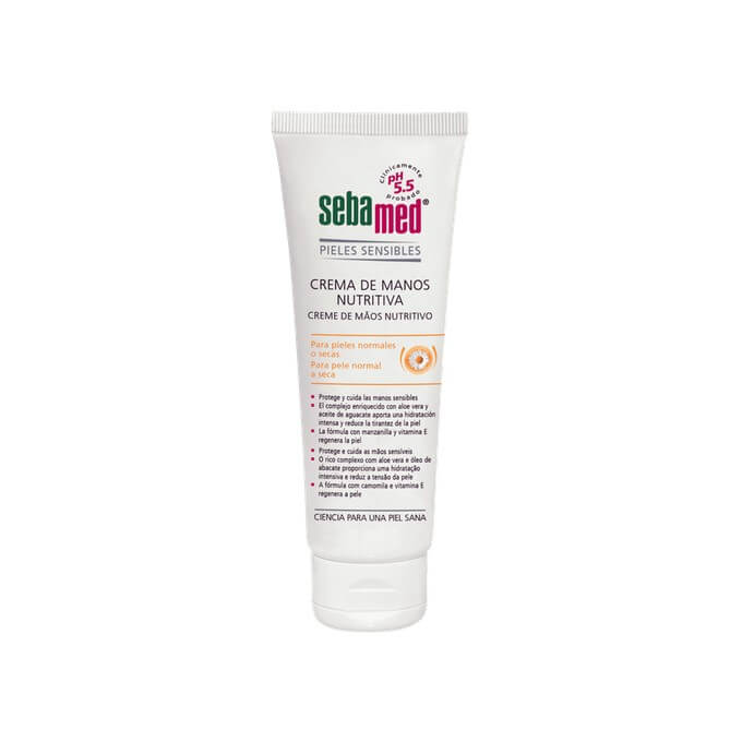 Sebamed Crema Manos Nutritiva 75 ml