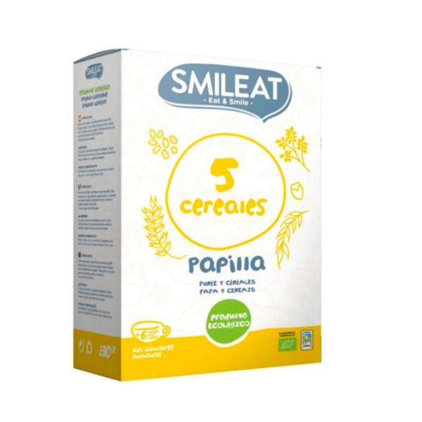 Smileat papilla ecologica 5 cereales