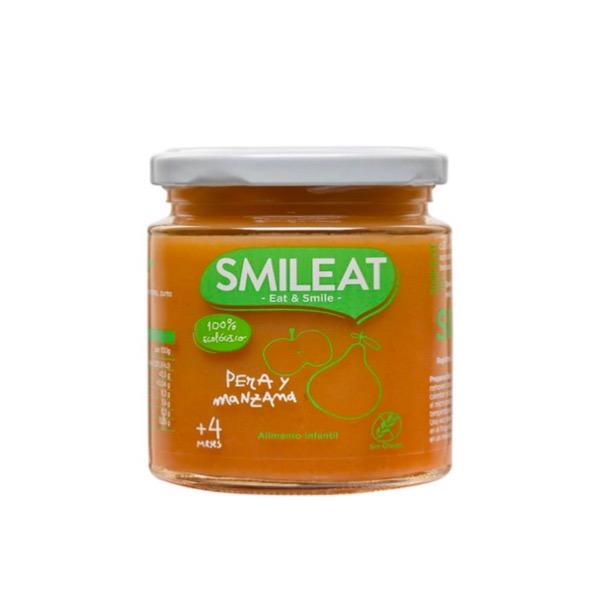 Smileat Tarrito Ecologico Pera y Manzana +4m 230g
