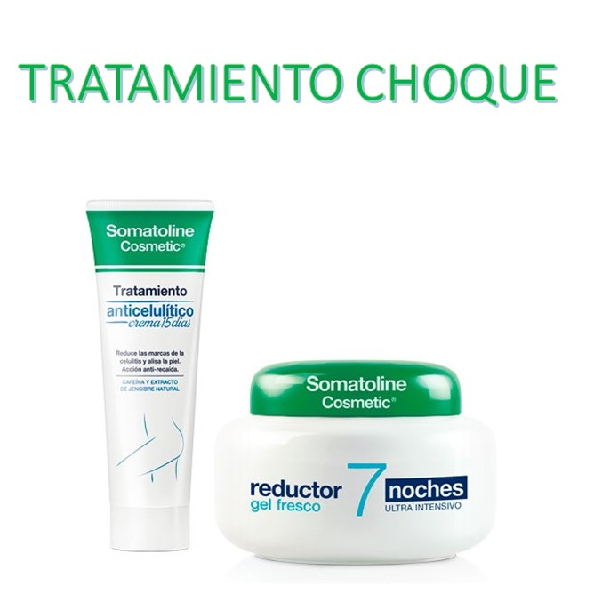 Somatoline Pack tratamiento anticelulitico crema 250ml + Gel Fresco Reductor 400 ml
