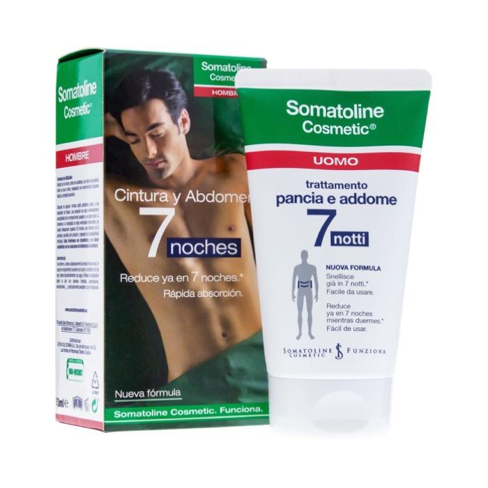 Somatoline hombre noche cintura y abdomen 7 noches 150ml