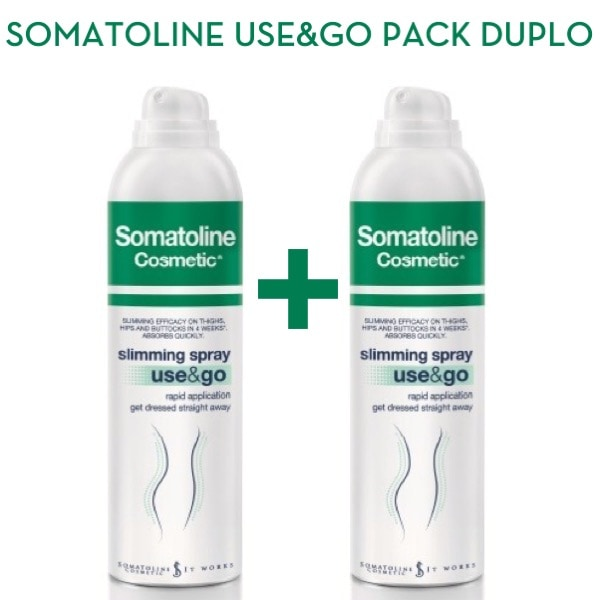 Somatoline use and go spray duplo 2x200 ml