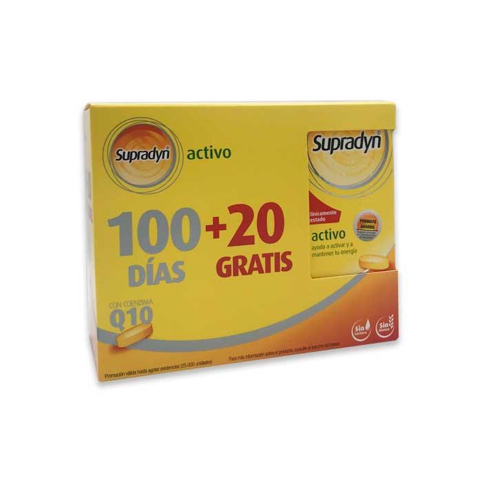 Supradyn Activo Pack 100+20 Comprimidos