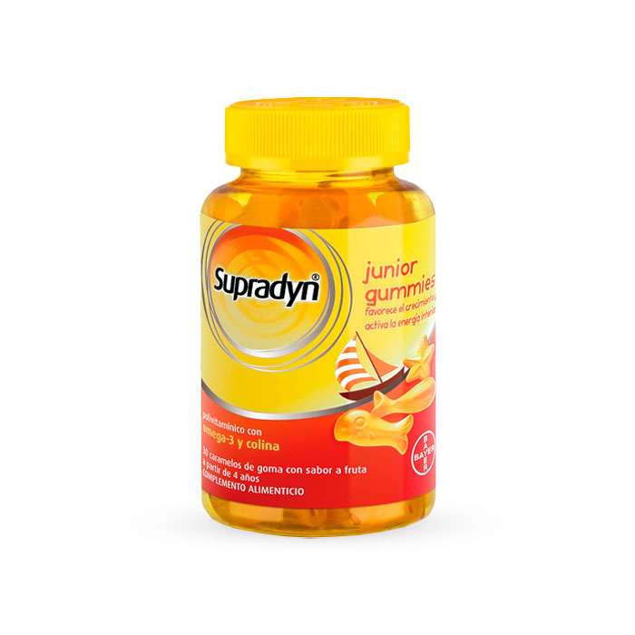 Supradyn Junior Gummies 30 Gominolas