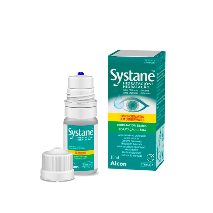Systane Hidratacion Diaria Gotas Oftalmicas Lubricantes 10ml