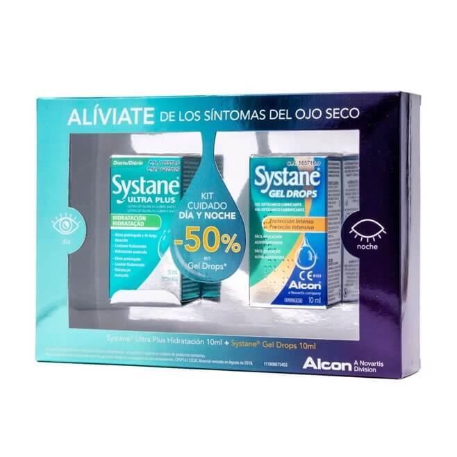 Systane Kit Cuidado Dia y Noche Ultra Plus 10ml + Gel Drops 10ml