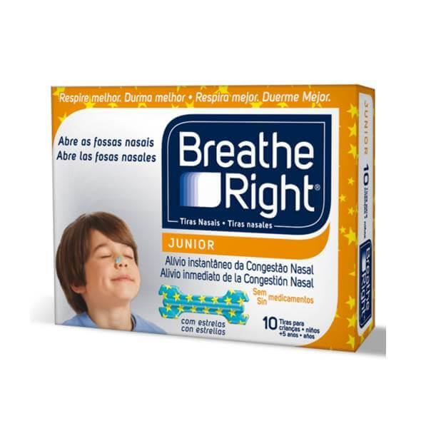 Breathe right  junior 10 tiras nasales