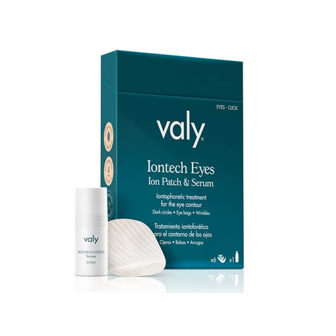 Valy Iontech Eyes Tratamiento Iontoforetico Contorno Ojos 6 Parches + Serum 15ml