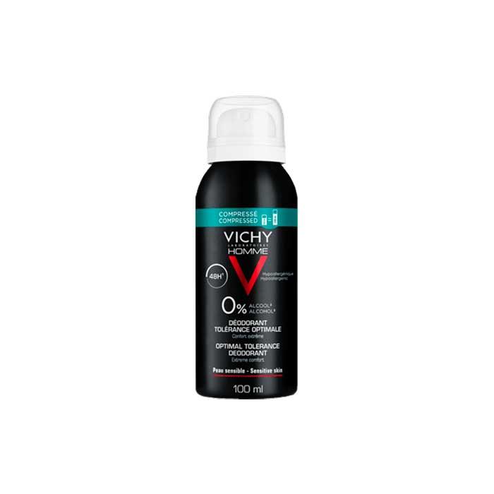 Vichy Homme Desodorante Tolerancia Optima 48h 100ml