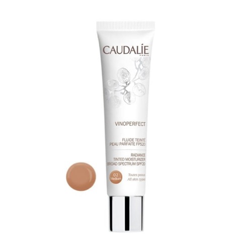 Vinoperfect fluido con color medium spf20 40 ml