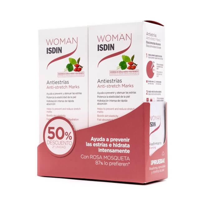 Velastisa Antiestrias Woman Isdin Duplo 250 ml