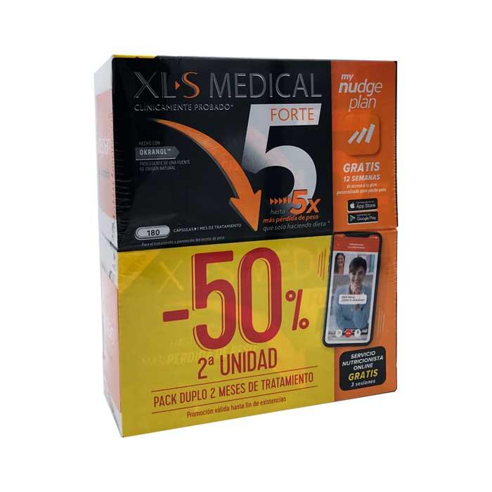 Xls Medical Forte 5 Duplo 180+180 Capsulas