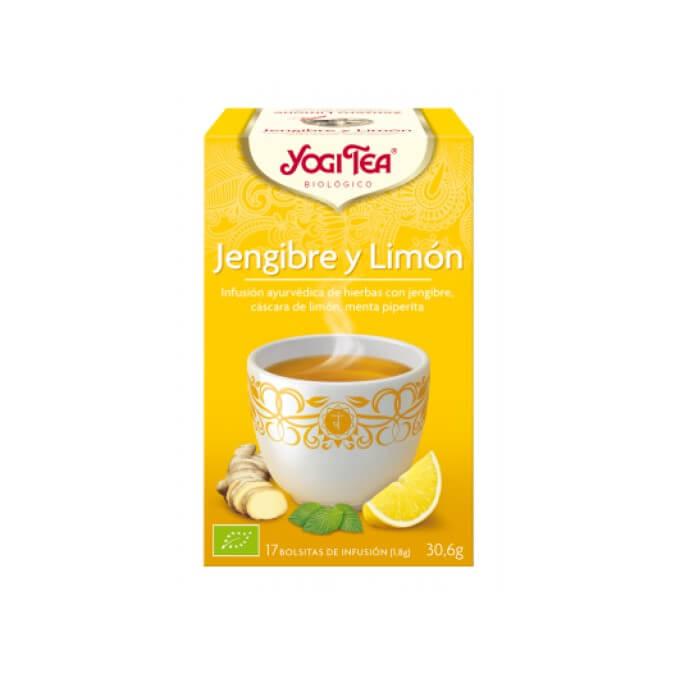 Yogi Tea Jengibre y Limon 17 Bolsitas de Infusion