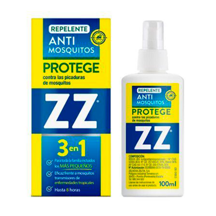 Zz Repelente Antimosquitos 100ml