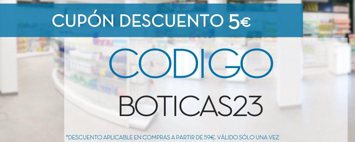 cupon descuento boticas23