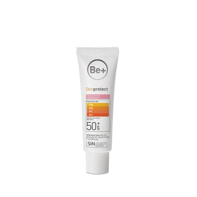 Be+ Skin Protect piel intolerante 100% mineral spf50+ 50 ml