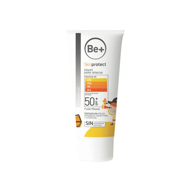 Be+ Skin Protect Infantil para bebes sin filtros quimicos 100 ml