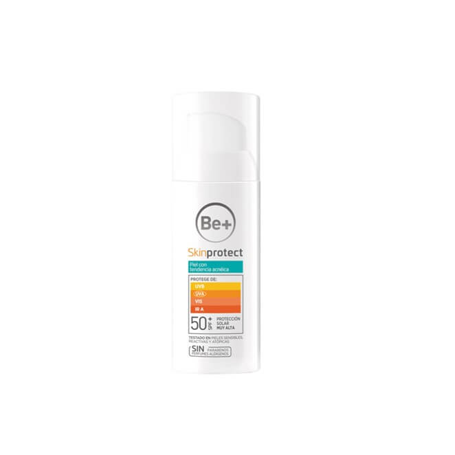 Be+ Skin Protect piel con tendencia acneica spf50+ 50 ml
