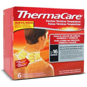 Thermacare Cuello/ Hombro 6 Parches Termicos