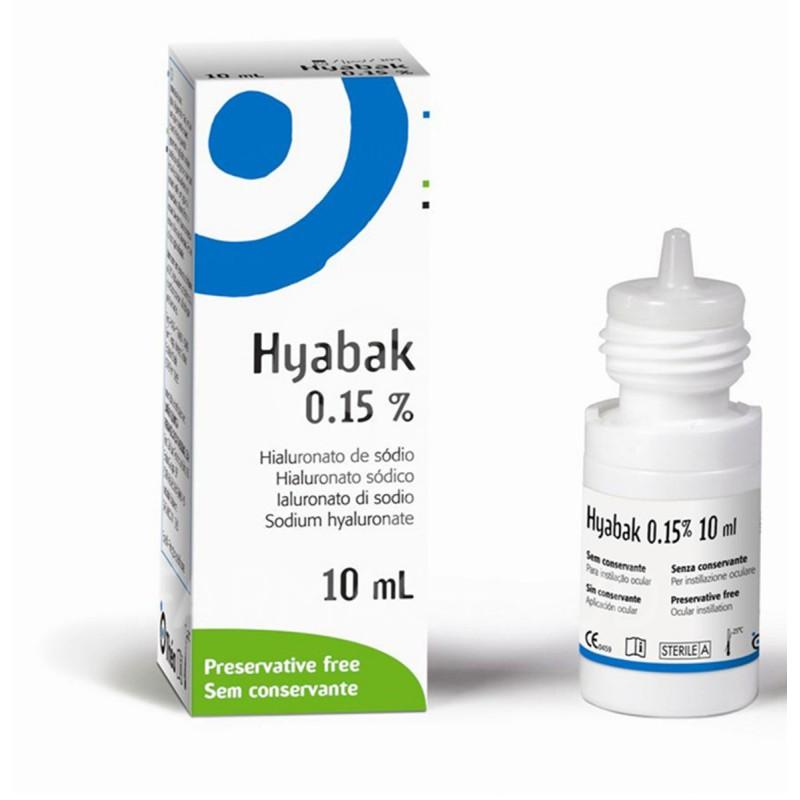 Hyabak Lubricante Ocular 10 ml
