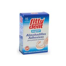 Fittydent almohadillas 15 uds