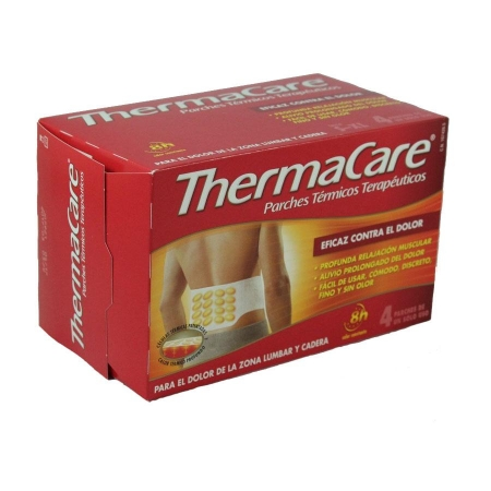 Thermacare Lumbar/ Cadera 4 Parches Termicos
