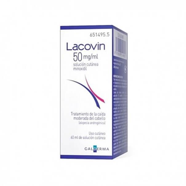 Lacovin solucion capilar 5% 60 ml