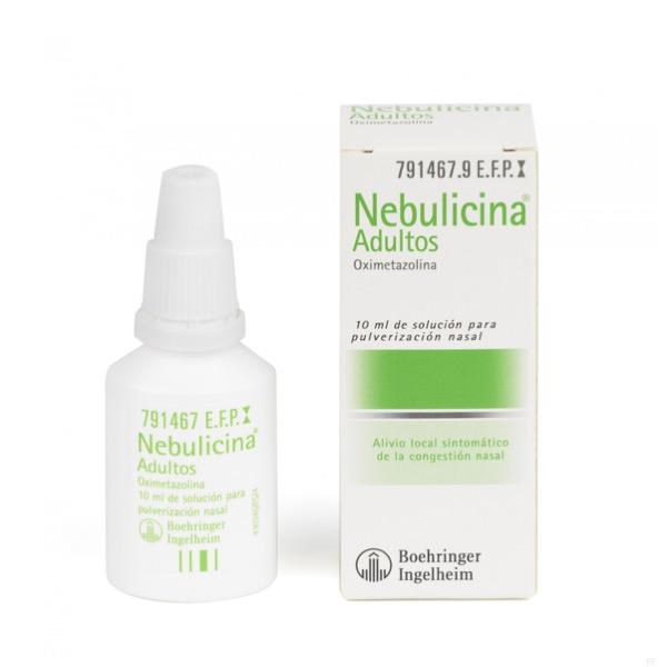 Nebulicina adultos nebulizador 10 ml