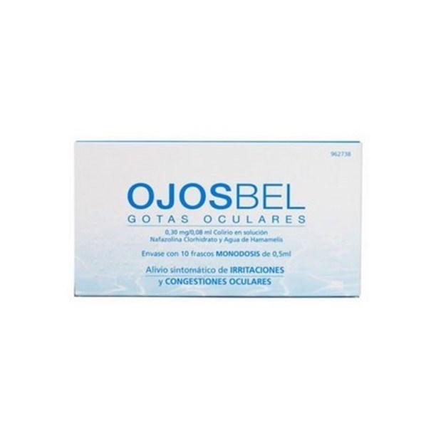 Ojosbel gotas oculares 10 monodosis 0,5 ml