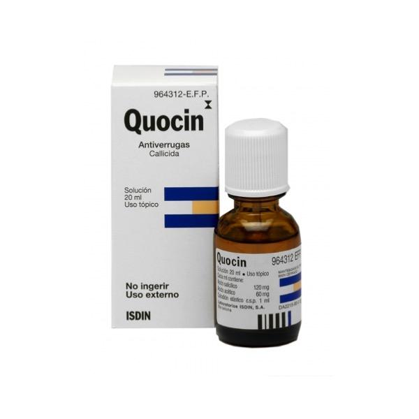 Quocin Callicida Solucion 20 ml
