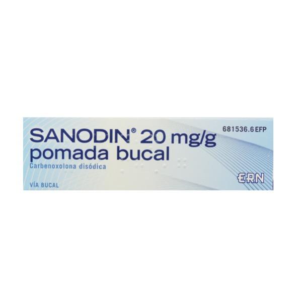 Sanodin pomada bucal 15 g