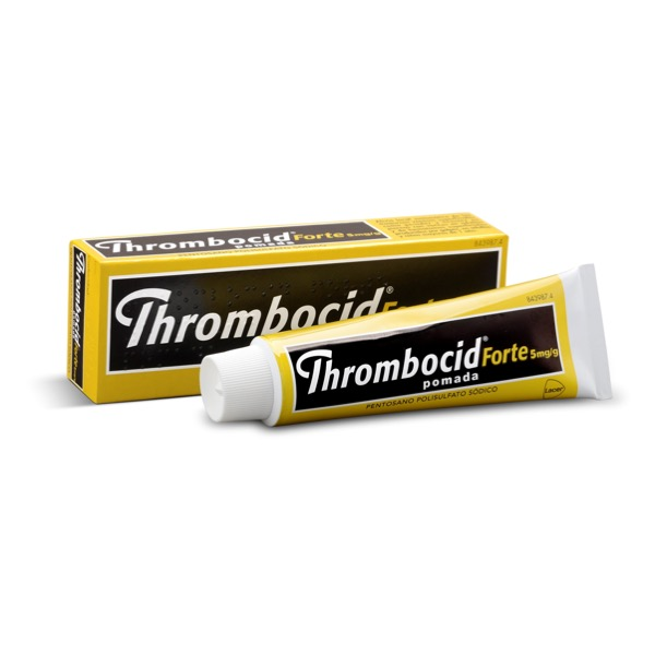 Thrombocid forte 5mg/g 60g pomada