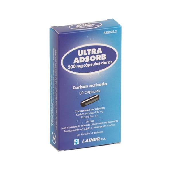 Ultra Adsorb 30 capsulas