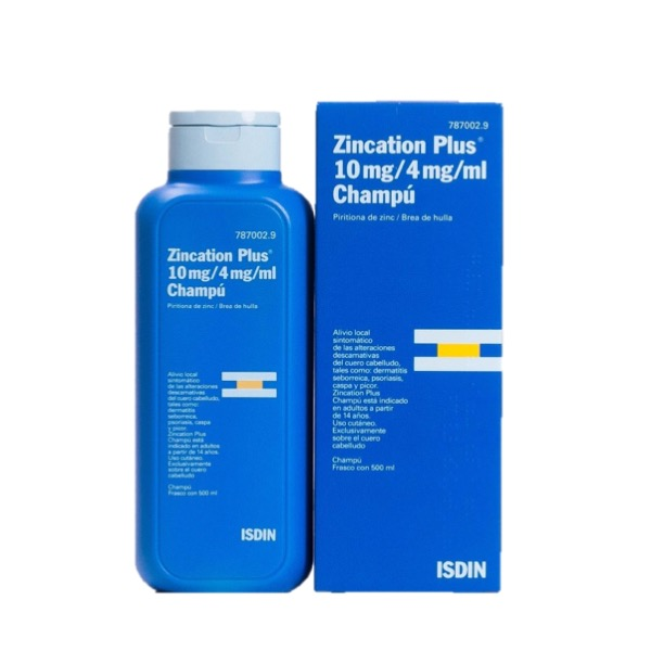 Zincation plus champu 200 ml