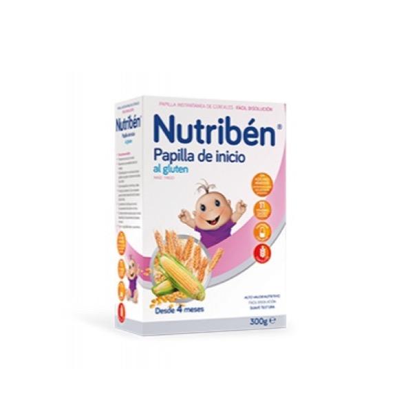 Nutriben papilla inicio al gluten 300 gr